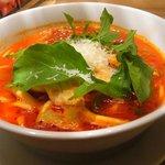 麺Dining セロリの花 - トマトスープ麺 680円