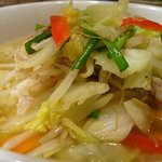 麺Dining セロリの花 - 野菜たっぷりタンメン