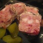 炉バルLO - お肉のテリーヌ