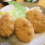 丸幸洋食店 - コロッケセット定食
