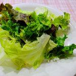 アミーゴ・アミーガ - 前菜…レタスの乱切り