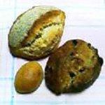 東風 - いちぢくパン、雑穀パン