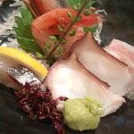日本料理 正 - お刺身盛り合わせ