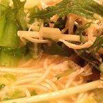 陳麻家 - 半塩らーめん 素麺みたいな麺ですね!