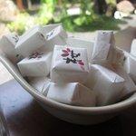 桜珈琲 - 料理写真:砂糖も可愛い