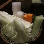 地産串あげ処 串兆 - 野菜スティック