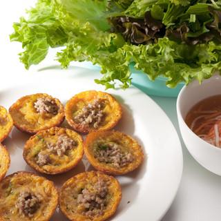 新鮮な野菜をベトナムちゃんで