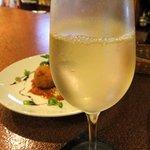 クオーレ - グラスワイン(白) ¥500