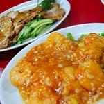 楓林 - 小海老のチリソース煮/小・チャーシュー/小