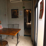 鶏飯食堂 HABUS - 店内の様子