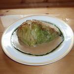 洋食屋ザンガラ - 高原キャベツのステーキ