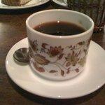 太陽ノ塔 - ケーキセットのコーヒー