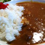 ぴゅあ - お肉屋のビーフカレー(アップ)(2011.3)
