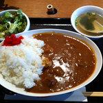 ぴゅあ - お肉屋のビーフカレー(大盛)(750円)(2011.3)