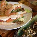 瀬し香 - サンドイッチ昼御膳