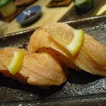 海鮮処寿し常 - 【2011.05. 再訪】 炙りサーモンかと