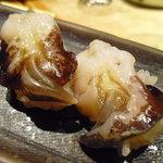 海鮮処寿し常 - 【2011.05. 再訪】 貝です・・①