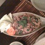 セラドン - ラープ(ひき肉のサラダ)