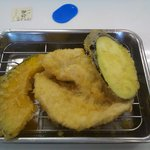 天ぷらのひらお - アナゴ以外の野菜天