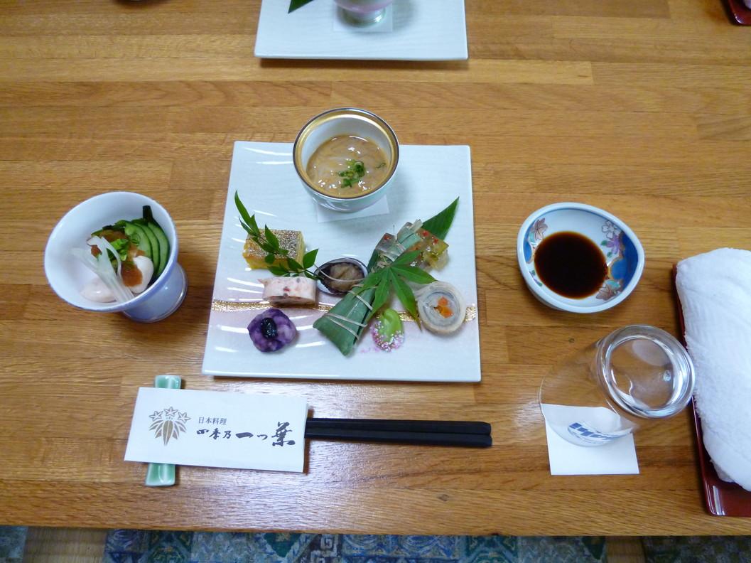 日本料理四季の一つ葉