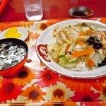 京香 - 肉片飯
