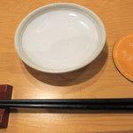 居心伝 - 醤油皿&箸