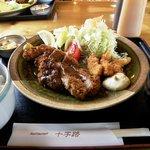 レストラン 十字路 - 料理写真:Bランチ(ミックスフライ定食)
