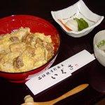 いぐさ - 東京軍鶏の親子丼「しゃも丼」1370円