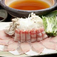 """アグー""""やんばる島豚""""  しゃぶしゃぶ鍋(2~3人分)"""