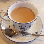 フルーツパーラーフクナガ - カフェオーレ(450円)