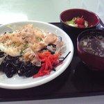タウンいとよ - 糸魚川ブラック焼きそば(700円)