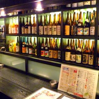 <焼酎・日本酒>種類豊富に取り揃えております!