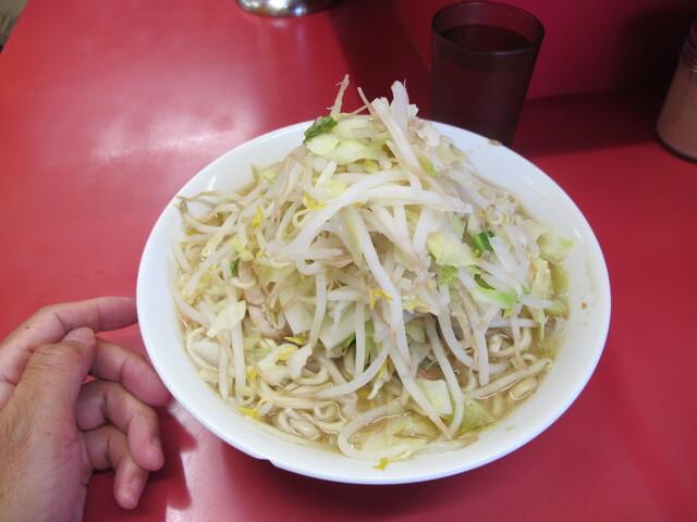 ラーメン二郎 , ラーメン650円 ニンニク
