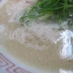 長浜ナンバーワン - スープのアップ