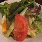 ステーキハウスそむり - 「そむり」 セットのサラダ