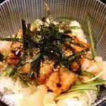駄菓子屋 穴子拉麺 - 半穴子丼