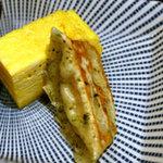 駄菓子屋 穴子拉麺 - 餃子、玉子焼き