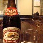 呑喜家 - 中瓶ビール