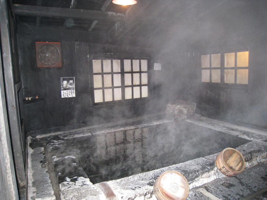 壁湯天然洞窟温泉 旅館 福元屋