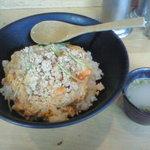 Aburidoribarichou - 鶏そぼろ丼(500円)