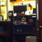 クロスロードカフェ - 厨房方面