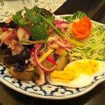 バンコク - ナスのサラダ