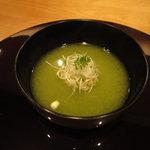 赤坂 丈太郎 - うすい豆のすり流し 鯛