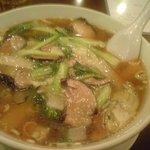 801276 - 椎茸と青菜そば