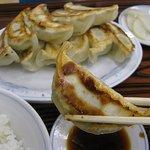 ぎょうざの満洲 - ダブル餃子定食500円