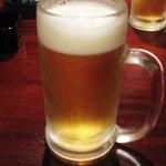 基地 - ちょっと飲んだ生ビール