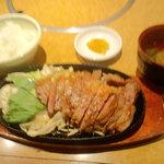 ぱっぷHOUSE - ステーキセット