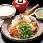 山かつ - 葱塩ロース定食