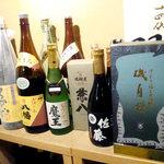 中も津屋 - 地酒常時約10種類、焼酎・梅酒も50種類以上取り揃えてます!