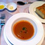 マルコポーロ - ランチコースのスープ